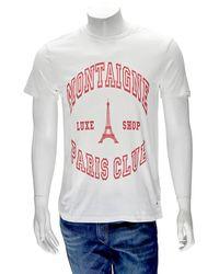 Eleven Paris Men/'s T-Shirt Off White Canby M Knit T-Shirt