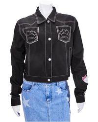 Yazbukey Ladies T-shirt Black Pink Lady Gabardine Jacket, Brand