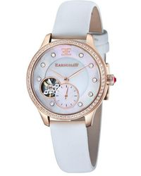 Thomas Earnshaw Ladyaustralis Automatic White Mother Of Pearl Dial Ladi Watch -8029-03 - Multicolor