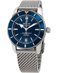 Breitling Superocean Heritage Ii Automatic 46 Mm Blue Dial Mens Watch