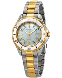Seiko - Diamonds White Mother Of Pearl Dial Ladies Watch - Lyst