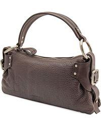 Kenneth Cole Hard To Pleats Handbag - Brown