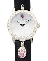 Blancpain Ladybird Slim Automatic Ladies Watch -1954-63a - Metallic