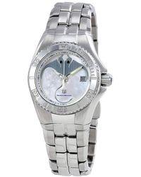 TechnoMarine Cruise Mother Of Pearl Dial Ladies Watch 115185 - Metallic