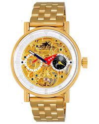 Adee Kaye Ak2266 Automatic Watch -020go - Metallic