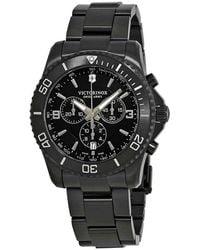 Victorinox Maverick Chronograph Black Dial Mens Watch