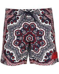 Moncler Swim Shorts - Blue