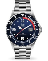 Ice-watch Quartz Blue Dial Stainless Steel Watch