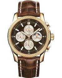 Breitling Bentley Mark Vi Brown Dial Chronograph Mens Watch -q539brct - Multicolour
