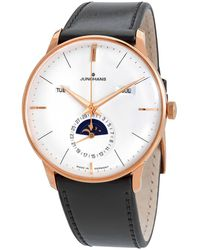 Junghans Meister Kalender Automatic Silver Dial Mens Watch - Metallic