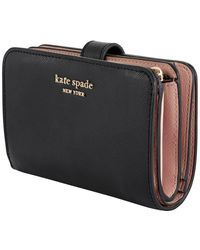Kate Spade Black Spencer Compact Wallet
