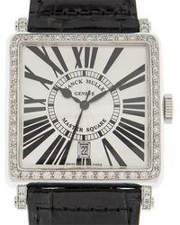 Franck Muller Master Square Automatic White Dial Unisex Watch 6000hscdtrd1r(og) - Metallic