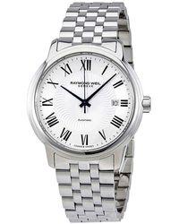 Raymond Weil - Maestro Automatic Silver Dial Mens Watch -st-00659 - Lyst