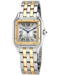 Cartier Panthère De Two-tone Bracelet Watch - Metallic