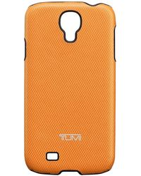 Tumi Orange Prisma Snap Case For Samsung Galaxy S4