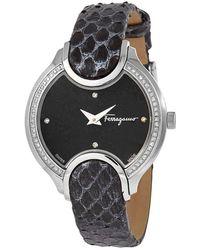 Ferragamo Salvatore Quartz Black Dial Ladies Watch
