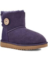 UGG Ladies Nightshade Mini Bailey Button Ii Boot, Brand - Purple