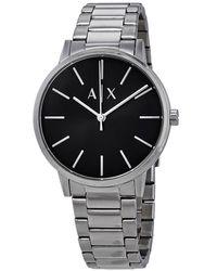 Armani Exchange Cayde Black Dial Mens Watch