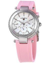 Swiss Legend Quartz White Dial Watch -16175sm-02-pks - Pink