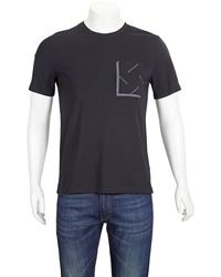 Calvin Klein Short-sleeve Black Regular-fit T-shirt