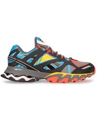 Reebok Mens Dmx Trail Shadow Multicolor Sneakers - Blue