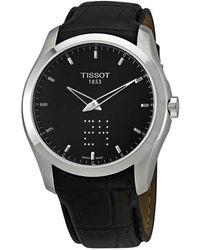 Tissot Couturier Quartz Analog-digital Black Dial Mens Watch