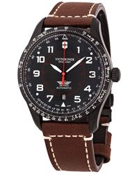 Victorinox Airboss Automatic Black Dial Mens Watch