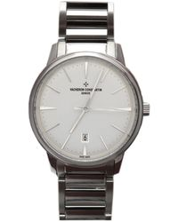 Vacheron Constantin Patrimony Ladies 18k White Gold Watch -b181 - Metallic