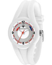 Maserati Campione White/grey Children's Watch
