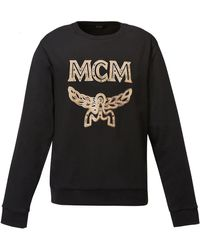 MCM Logo Sweatshirt In Black