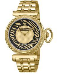 Roberto Cavalli - Champagne Dial Ladies Watch - Lyst