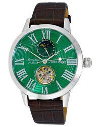 Adee Kaye Ak2269 Automatic Green Dial Watch -gn