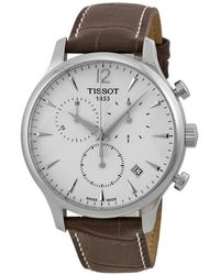 Tissot T Classic Tradition Chronograph Mens Watch T0636171603700 - Metallic