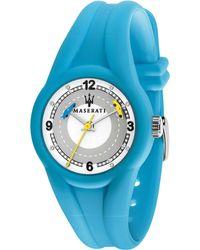 Maserati Campione White/grey Dial Children's Watch - Blue