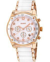 Roberto Bianci Simona Chronograph Quartz White Dial Ladies Watch