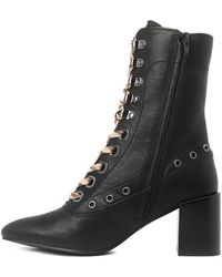 See By Chloé Ladies Calf Leather Sophia Boots, Brand - Black