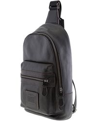 COACH Academy Black Mens Backpack