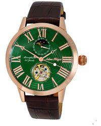 Adee Kaye Ak2269 Automatic Green Dial Watch -RGGN