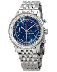 Breitling Navitimer 1 Chronograph Automatic Blue Dial Mens Watch