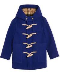 Burberry - Kids Duffle Coat - Lyst