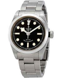 Tudor Black Bay Automatic 32 Mm Black Dial Watch -0001