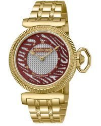 Roberto Cavalli - Silver Dial Ladies Watch - Lyst