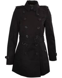 Burberry The Chelsea – Short Trench Coat - Black