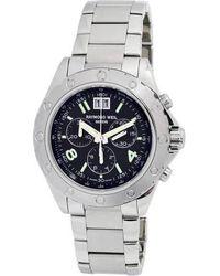Raymond Weil Rw Sport Chronograph Mens Watch -st-05207 - Metallic