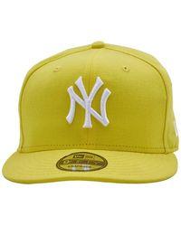 KTZ Mens Yellow Logo Cap