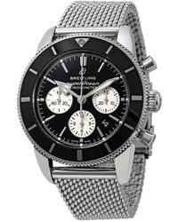 Breitling Superocean Heritage Ii Chronograph Automatic Chronometer Black Dial Mens Watch - Multicolor