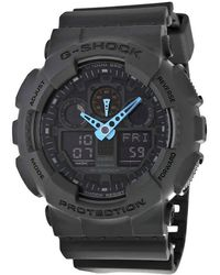 G-Shock G Shock Gray Digital Dial Resin Mens Watch -8acr