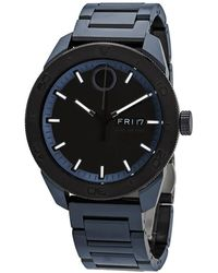 Movado - Bold Quartz Mens Stainless Steel Watch - Lyst