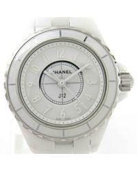 Chanel J12 White Diamond Dial Ladies Watch