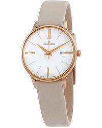 Junghans Meister Damen Quartz White Dial Watch 000 - Metallic